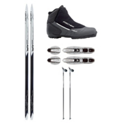Fischer Ridge Crown Cross Country Ski Package, , medium