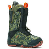 Burton Ruler Snowboard Boots, Green-Camo, medium