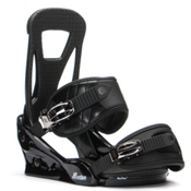 Burton Freestyle Snowboard Bindings 2017, Black, medium
