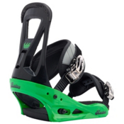 Burton Freestyle Snowboard Bindings 2017, Green, medium