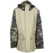 Burton TWC Greenlight Boys Snowboard Jacket, Grayeen-Drop Camo, medium