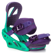 Burton Scribe Womens Snowboard Bindings, 50 Shades Of Green, medium