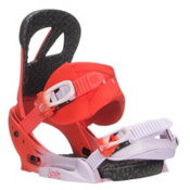 Burton Scribe EST Womens Snowboard Bindings, Bloodshot, medium