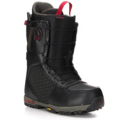 Burton Imperial Snowboard Boots, Black-Green-Red, medium