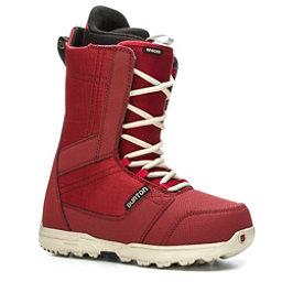 Burton Invader Snowboard Boots 2017, Red, 256