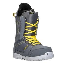 Burton Invader Snowboard Boots, Gray-Yellow, 256