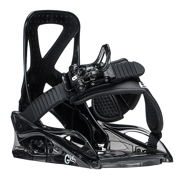 Burton Grom Kids Snowboard Bindings, Black, 600