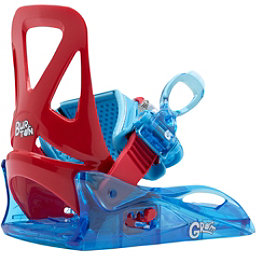 Burton Grom Kids Snowboard Bindings 2017, Red-Blue, 256