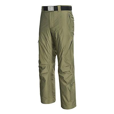 Bogner Aros Long Mens Ski Pants, Swamp Green, viewer