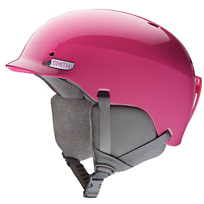 Smith Gage Jr Kids Helmet, Bright Pink, viewer