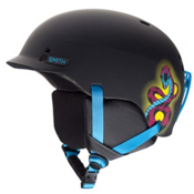 Smith Gage Jr Kids Helmet, Matte Blacklight, medium