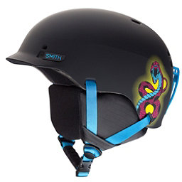 Smith Gage Jr Kids Helmet, Matte Blacklight, 256