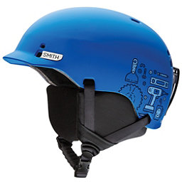 Smith Gage Jr. Kids Helmet, Matte Lapis Toolbox, 256