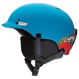 Smith Gage Jr. Kids Helmet 2018, Matte Cyan Burnside, 256