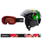 Smith Zoom and Sidekick Combo Kids Helmet 2016, Angry Birds, medium