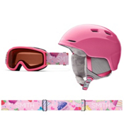 Smith Zoom and Sidekick Combo Kids Helmet 2016, Bright Pink, medium