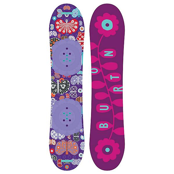 Burton Chicklet Girls Snowboard, 120cm, 600