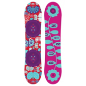 Burton Chicklet Girls Snowboard 2017, 125cm, medium