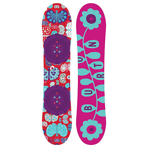 Burton Chicklet Girls Snowboard 2017, 125cm, 600