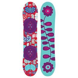 Burton Chicklet Girls Snowboard 2017, 130cm, 256