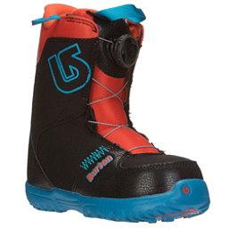 Burton Grom Boa Kids Snowboard Boots 2017, Webslinger Blue, 256