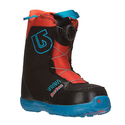 Burton Grom Boa Kids Snowboard Boots, Webslinger Blue, viewer