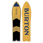 Burton The Throwback Snowskate 2016, 130, medium