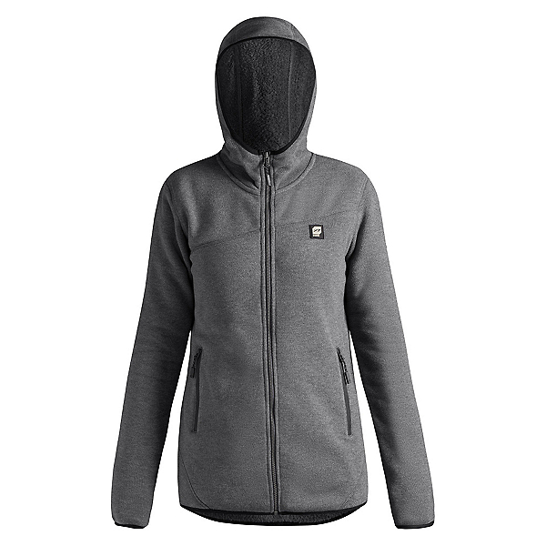 Orage Cindy Womens Mid Layer, Heather Grey, 600