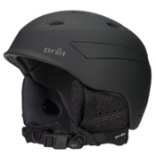 Pret Effect Helmet, Rubber Jet Black, medium