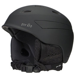 Pret Effect Helmet, Rubber Jet Black, 256