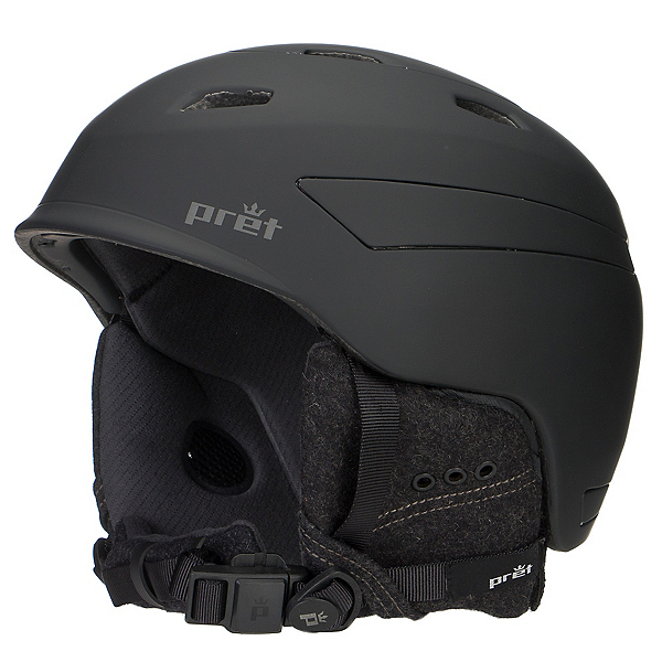 Pret Effect Helmet, Rubber Jet Black, 600