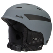 Pret Effect Helmet, Rubber Smoked Grey, medium