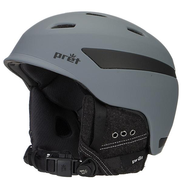 Pret Effect Helmet, Rubber Smoked Grey, 600