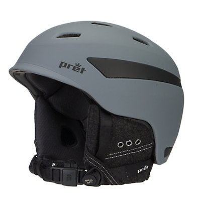 Pret Effect Helmet, Rubber Jet Black, viewer
