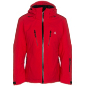 Volkl Perfect Fitting Petite Womens Insulated Ski Jacket, Red, medium