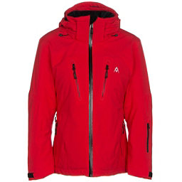 Volkl Perfect Fitting Womens Insulated Ski Jacket, Red, 256