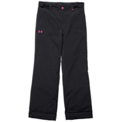 Under Armour CGI Fader Girls Ski Pants, Black-Rebel Pink, medium