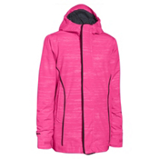 Under Armour CGI Britton Girls Ski Jacket, Rebel Pink-Black, medium