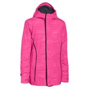 Under Armour CGI Britton Girls Ski Jacket, Rebel Pink-Black, medium