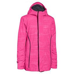 Under Armour CGI Britton Girls Ski Jacket, Rebel Pink-Black, 256