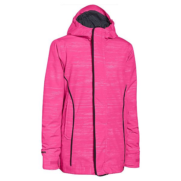 Under Armour CGI Britton Girls Ski Jacket, Rebel Pink-Black, 600