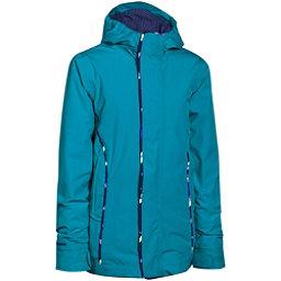 Under Armour CGI Britton Girls Ski Jacket, Pacific-Europa Purple-Europa Purple, 256