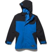 Under Armour ColdGear Infrared Hacker Boys Ski Jacket, Blue Jet-Black, medium