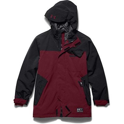 Under Armour ColdGear Infrared Hacker Boys Ski Jacket, Blue Jet-Black, viewer