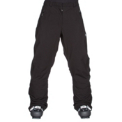 Volkl Perfect Fitting Extra Long Womens Ski Pants, Black, medium