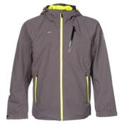 Descente Dart Mens Shell Ski Jacket, Graphite, medium