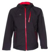 Descente Dart Mens Shell Ski Jacket, Black, medium