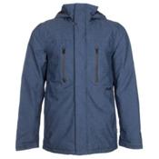 Burton Breach Mens Insulated Snowboard Jacket, Textured Boro, medium