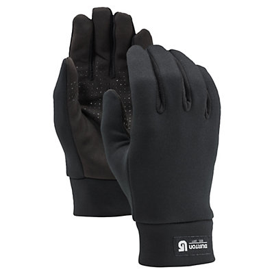 Burton Touch n Go Glove Liners, True Black, viewer