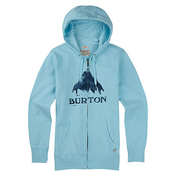 Burton Stamped Mountain Full Zip Womens Hoodie, , 600